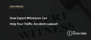 How Expert Witnesses Can Help Your Traffic Accident Lawsuit